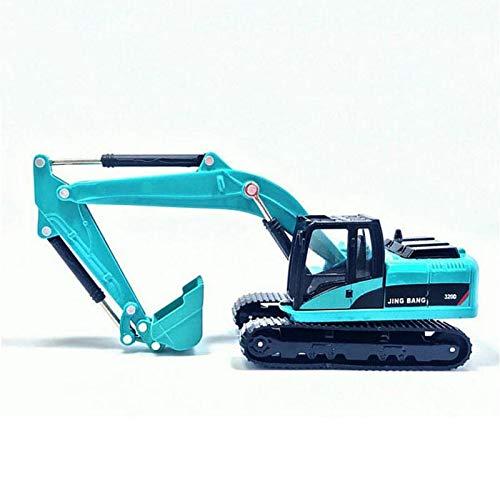 Vehículo de construcción 1/60 Diecast Aleación Metal Excavadora Trituradora Camión Volquete Cargador De Ruedas Agarre De Madera Carretilla Elevadora Ingeniería Construcción Vehículo Modelo De Juguete