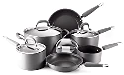 KitchenAid Gourmet Essentials Hard Anodized Nonstick 10-Piece Cookware Set review