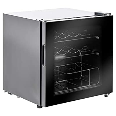 Lec DF48B Freestanding Drinks Fridge, Dial Controlled, 46L Total Capacity 48cm wide, Black by Lec