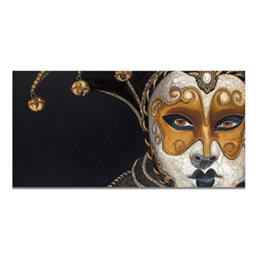 Mulmf Abstract Dramatische Rol Schilderen Posters Afdrukken Op Doek Wandkunst Afbeelding Canvas Schilderij voor Woonkamer Home Decor- 40X80Cm Geen Frame