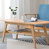 YUEYOULII Small Coffee Table Coffee Table Living Room Simple Small Coffee Table Creative Office Small Apartment Oval TV Cabinet Coffee Table Table, Side Table (Color : B)