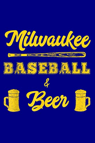 Classic Milwaukee Baseball Beer Fan Retro: Notebook Planner - 6x9 inch Daily Planner Journal, To Do List Notebook, Daily Organizer, 114 Pages