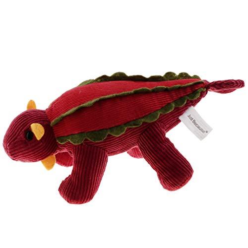 CUTICATE Cartoon Plüsch Gefüllte Dinosaurier Tier Puppen Kuscheltiere Spielzeug - Ankylosaurus Puppe