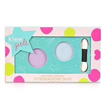 Luna Star Naturals Klee Girls Eyeshadow Duo Key West Splash Rainier Blossom/Baby Blue/Lavender 1.3 Ounce