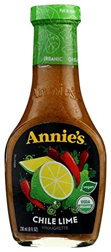 Annie's Chile Lime Vinaigrette Salad Dressing Organic, Non-GMO, 8 fl oz