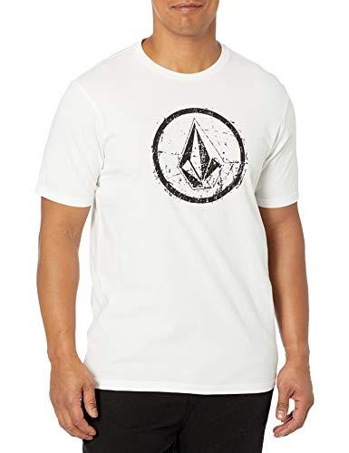 Volcom Herren Ramp Stone S/S Tee T-Shirt, Weiß, XX-Large