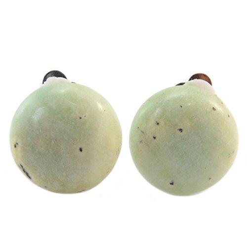Les Trésors De Lily [P5620] - Creator clips 'Mineralia' grüne chita - 20 mm.