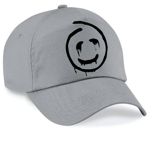 Shirtinstyle Basecap Mentalist Cap Capy Größe Unisex, Farbe hellgrau