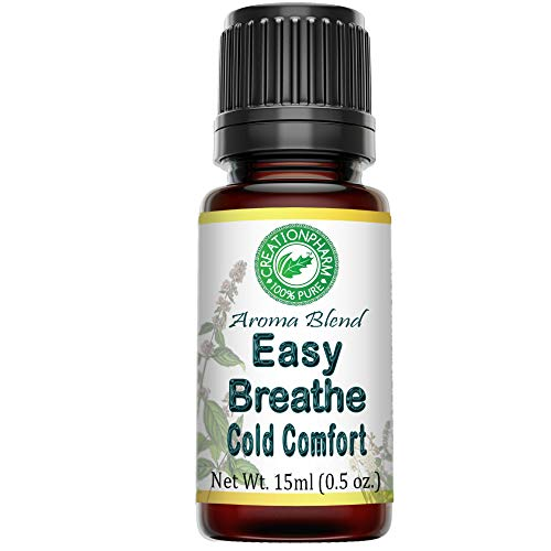 Easy Breathe Essential Oil Blend for Sinus, Cough, Allergy Relief,...