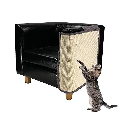 Cat Furniture Protector Heavy Duty Anti Scratching Mat Sisal Couch Guard for Cats Protect Your Sofa from Scratching Easy Installation 55quotx236quot