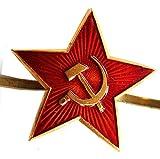 Russian USSR Soviet Red Army Star Hat Pin Cap Badge Kokarda xm.Md.star