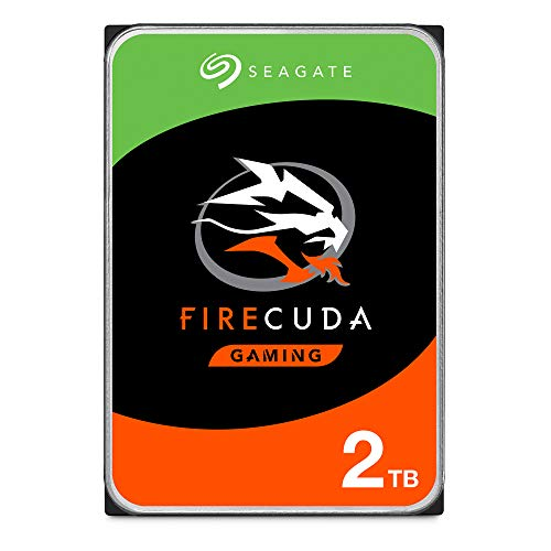 Seagate FireCuda 2 TB Solid State Hybrid Drive Performance SSHD – 3.5 Inch SATA 6 Gb/s Flash Accelerated 64 MB Cache for Gaming PC Laptop (ST2000DX002)