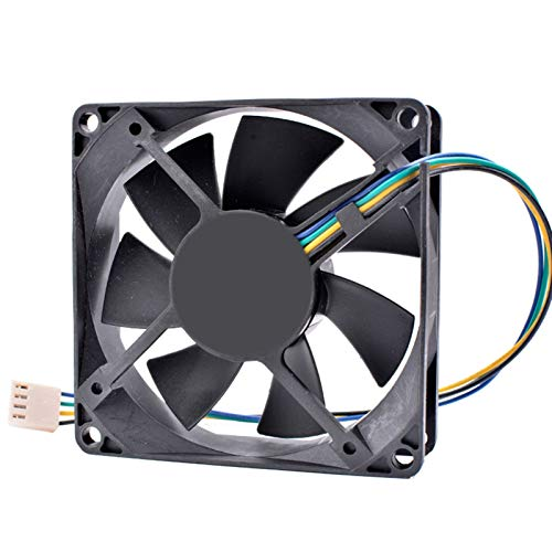 OLDJTK ENFRIAMIENTO Revolution PLA08025S12HH-1-LV 8 cm 8025 80mm Ventilador de la CPU del Ordenador 12V 0.50a 4 Pines PWM del Ventilador de refrigeración