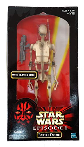 "Hasbro Battle Droid The Phantom Menace 12\"" Inch, 30 cm Actionfigur - Star Wars Episode I Collection 1999"