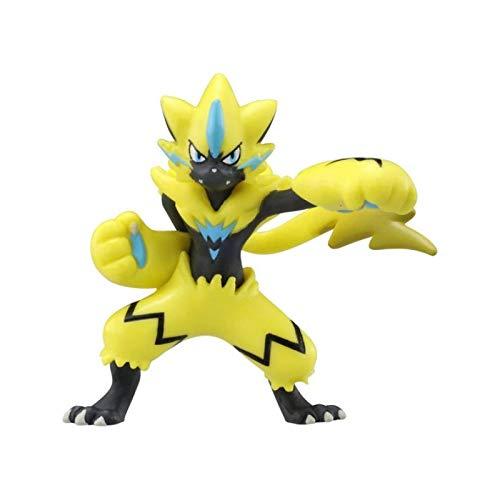 Figura De Juguete De Anime Pokemon De 5 Cm, Caja De Color, Embalaje, Escudo De Espada, Zeraora MC, Muñeca, Colección De Juguetes, Regalo