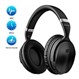Mpow H5 [Upgrade] Active Noise Cancelling Headphones, 30Hrs Playtime Bluetooth Headphones with CVC6.0