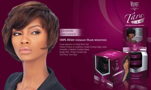 OUTRE Velvet Tara 2.4.6 Color 1 Remi Human Hair Weave