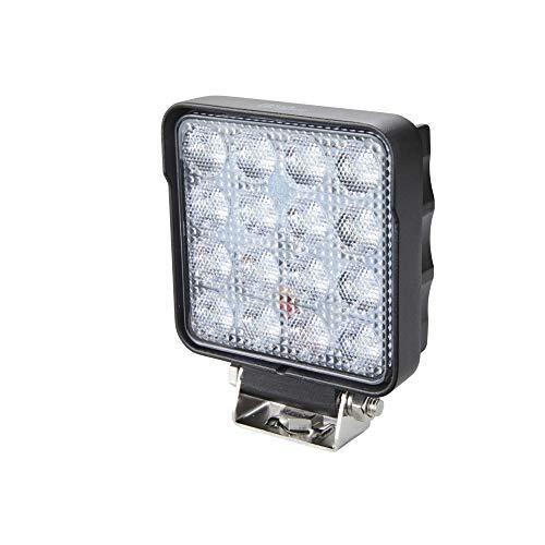 HELLA 1GA 357 106-032 Arbeitsscheinwerfer - Valuefit S2500 - LED - 12V/24V - 2500lm - geschraubt - Nahfeldausleuchtung - Kabel: 3000mm - Stecker: offene Kabelende - Menge: 1