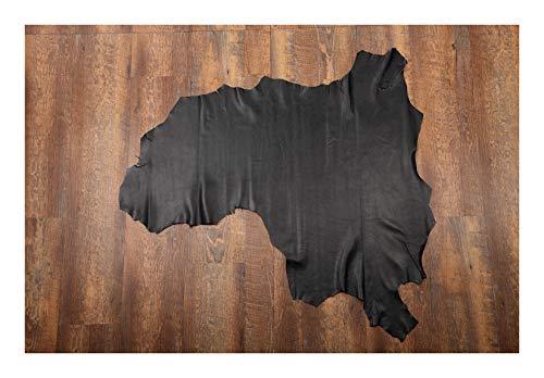 Herzog-Leather lamsnappaleder, gelooid chroom 7-12 fs² Bronzen folie.