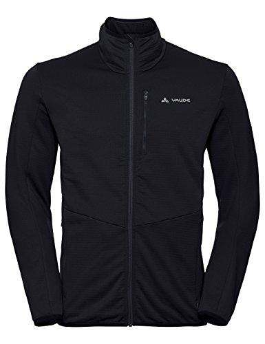 VAUDE Herren Jacke Back Bowl Fleece FZ Jacket, black, L, 41204