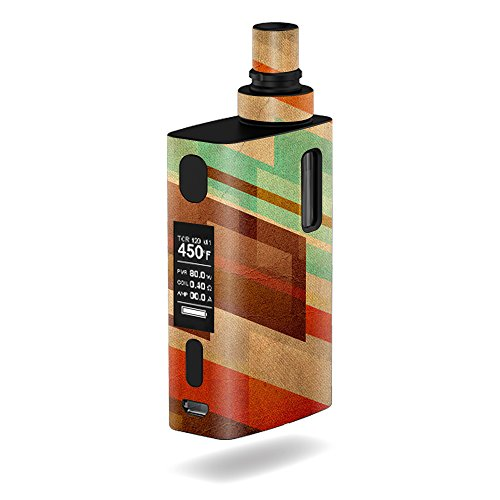 MightySkins Skin Compatible with JoyeTech eGrip 2 II – Abstract Wood | Protective, Durable, and Unique Vinyl Decal wrap Cover | Easy to Apply, Remove, and Change Styles | Made in The USA