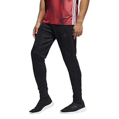 adidas Men's Standard Tiro 19 Pants, Black/Black, Large