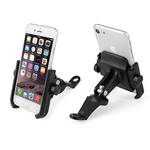 ETbotu Auto zubehör - Geschenke für Männer,Motorrad Handyhalter 360 Rotation Bike Phone Mount Compatible with iPhone Samsung XIAOMI Schwarz