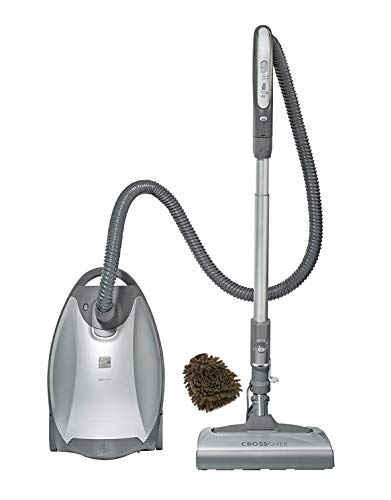 02021814 Kenmore 21814 Canister Vacuum, Bags Elite Pet and Allergy Friendly Crossover Cleaner (Complete Set), with Bonus Premium Microfiber Cleaner Bundle