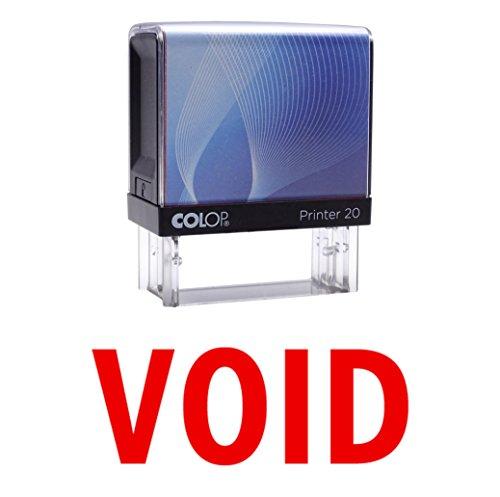 VOID Selbstfärber Stempel Individuelle Colop Büro Stationär P20 Mini Stamper