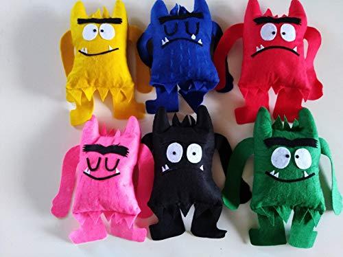 Muñecos 'El Monstruo de colores'