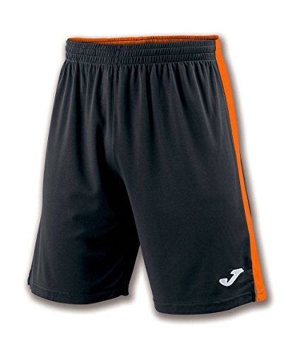 Joma Tokio II Short pour Homme XL Multicolore (Noir/Orange)