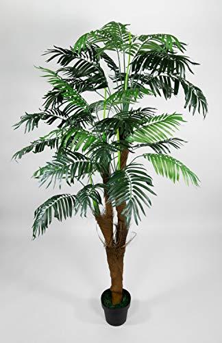 Seidenblumen Roß Arekapalme Kokosstamm 180cm ZJ künstliche Palmen Palme Kunstpalmen Kunstpflanzen Dekopalme - 2