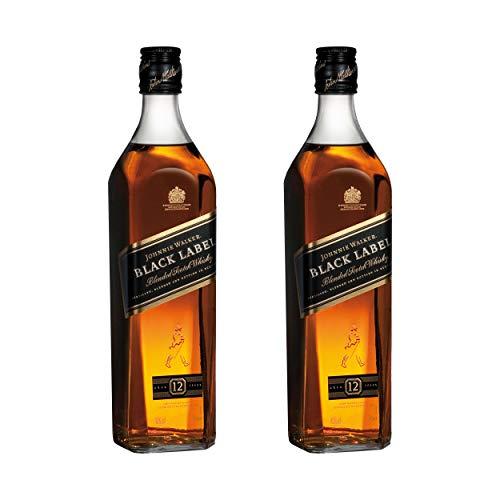 Johnnie Walker Black Label, 2er, Blended Whisky, 12 Jahre, Scotch, Alkohol, Alkoholgetränk, Flasche, 40%, 700 ml, 639897