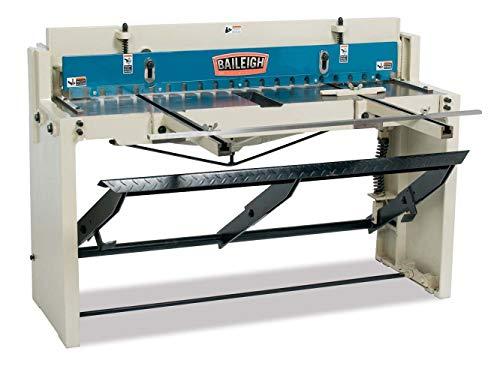 """Baileigh SF-5216E Foot Stomp Shear, 16-Gauge Mild Steel Capacity, 52"""" Length"""