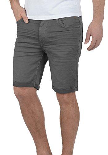Blend Diego Herren Jeans Shorts Kurze Denim Hose Aus Stretch-Material Slim Fit, Größe:M, Farbe:Granite (70147)