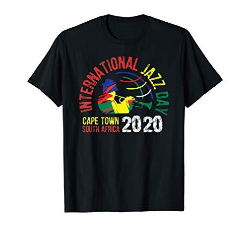 International Jazz Day 2020 Cape Town, South Africa T-Shirt