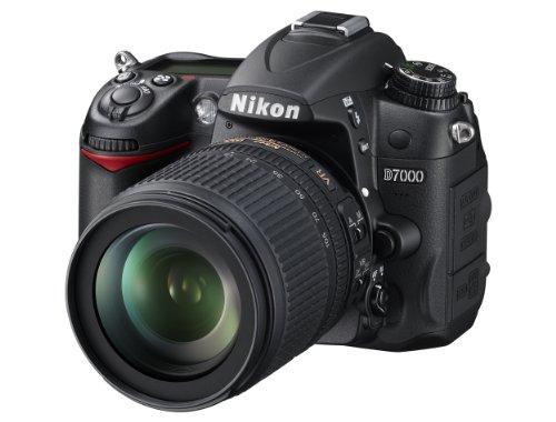 Nikon D7000 SLR-Digitalkamera (16 Megapixel, 39 AF-Punkte, LiveView, Full-HD-Video) Kit inkl. AF-S DX 18-105 VR + AF-S 70-300 VR