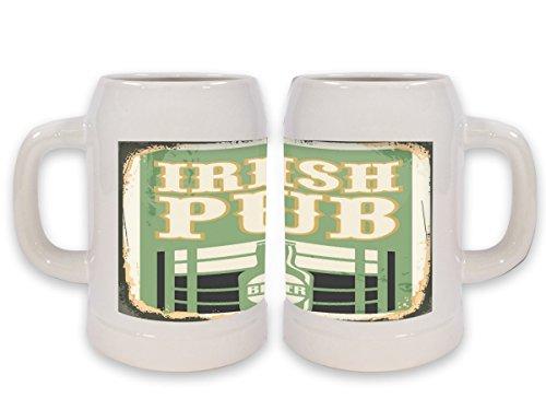 Boccale Birra Bar Pub Pub irlandese Stampato