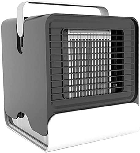 XXF-Shop Purificador de humidificador de Ventilador de refrigeración Personal con Ventiladores de Aire evaporativo refrigerador de Aire humidificador de Enfriador de Aire (Color : Black)