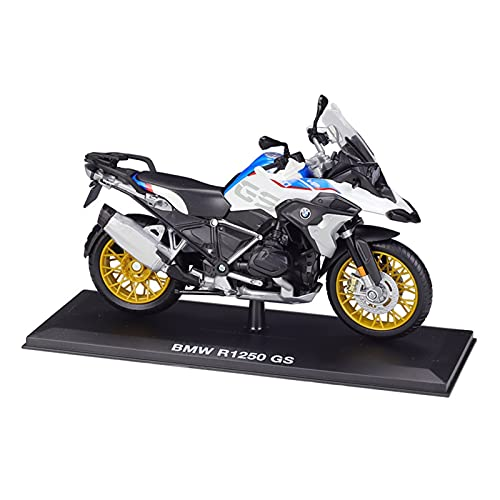 Boutique. 1:12 for BMW R1250GS Pesante Locomotiva Simulazione Lega Diecast Modello di Moto Prodotto Finito con Base