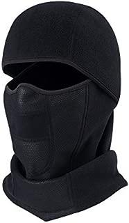 Sythyee Balaclava Fleece Hood,Cold Weather Face Mask Thermal Hood Balaclavas, Ski Face Mask, Winter Neck Warmer Headgear
