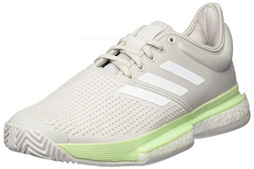 Adidas Solecourt W, Zapatillas de Tenis Mujer, Multicolor (Verbri/Ftwbla/Griuno 000), 40 EU