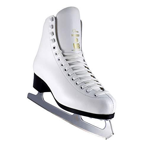 WIFA Eislaufschuhe Prima Hobby Weiß Damen (39)