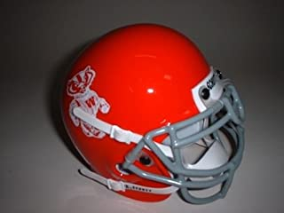 Schutt Wisconsin Badgers (1969) Mini Throwback Football Helmet from