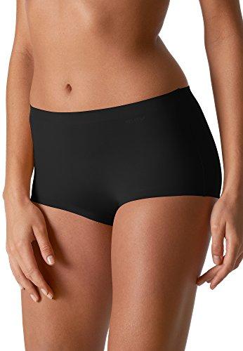 Mey Fashion Illusion Damen Panties Farbe:-Schwarz Gr:-44