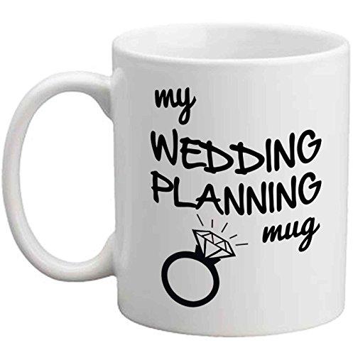 Taza para planificación de bodas, regalo perfecto de fiesta de compromiso para hija, hermana, amiga, compañera de trabajo