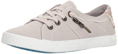 Blowfish Malibu Women's Fruit Sneaker, Sand Grey Smoked oz Canvas, 7.5 M US