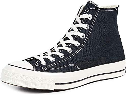 Converse Unisex-Kinder Taylor Chuck 70 Hi Sneakers, Schwarz (Black/Black/Egret 001), 37 EU