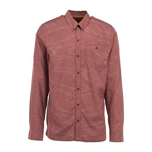 Browning Men's Sanborn Shirt   Heather Spiced Apple   X-Large