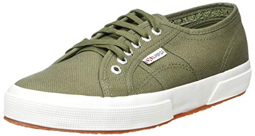Superga 2750 COTU Classic Sneakers, Zapatillas Unisex Adulto, Verde (Green Sherwood 102), 41.5 EU